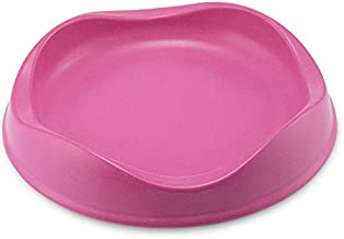 Beco Bamboo Cat Bowl, Non-Slip, Easy Clean, Pink
