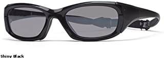 Protective Sports Eyewear- Maxx 30 - Shiny Black/ Silver Flash