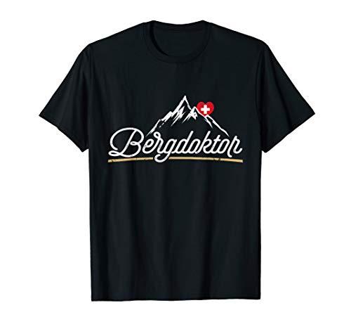 Bergdoktor Berge Alpen Apres Ski T-Shirt