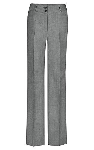 GREIFF Damen-Hose Regular Fit, modern with 37,5, Regular fit, 1357, hellgrau, Größe 38