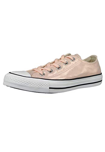Converse Chuck Taylor All Star Ox Washed Coral/Negro/Blanco Textil