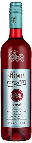 Aperitif Rosé aus dem Hause Asbach für Fruchtig-Frische Drink-Ideen mit Tonic oder Wildberry (1 x 0.75 l)