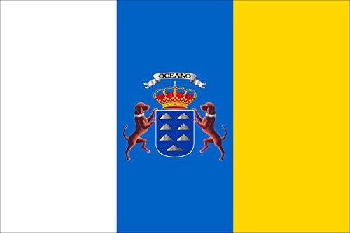 Durabol Bandera de Canarias 150 x 90 cm Satin Flag