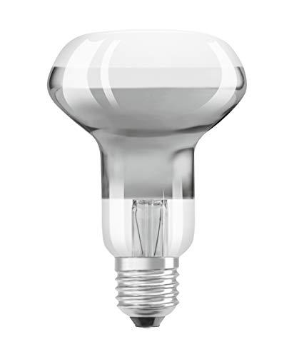 OSRAM Ampoule LED | Culot E27 | Forme Réflecteur R63 | Blanc Chaud 2700K | 4W (équivalent 32W)