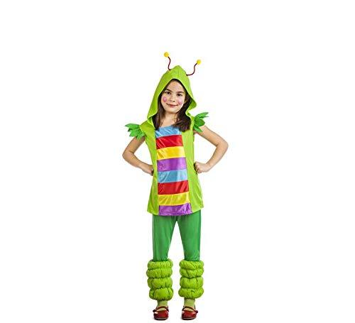 Disfraz de Gusanita Infantil (7-9 años)