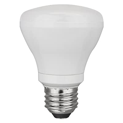 TCP 50W Equivalent, Soft White - 2700K, Dimmable, LED R20 Flood Light Bulb