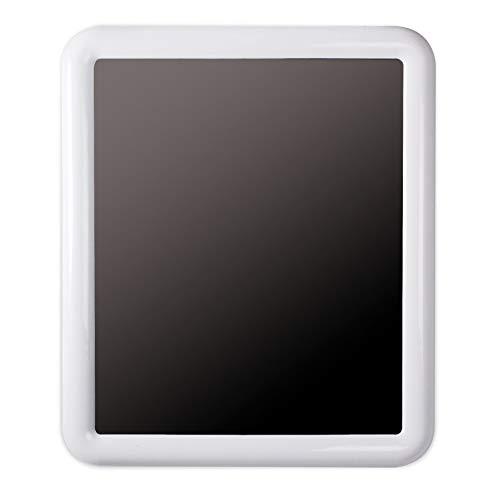 Tatay Espejo Rectangular, con Marco de plástico Blanco Brillante. Medidas 55 x 4,3 x 65 cm