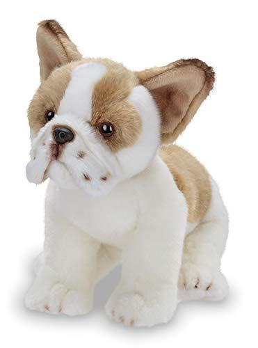 Bearington Collection Frenchie Plush Stuffed Animal French Bulldog Puppy Dog, 13 inch