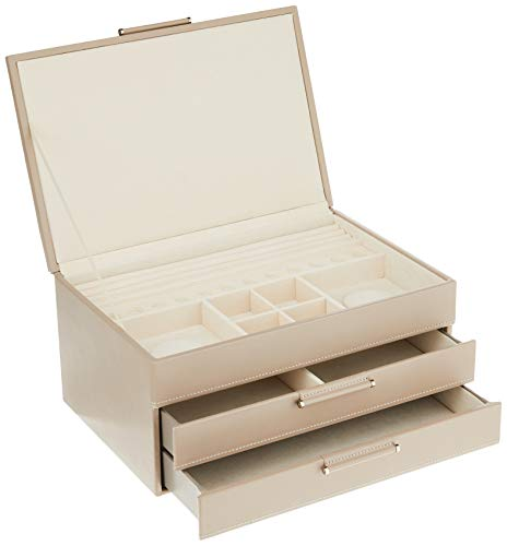 WOLF 392021 Sophia Jewelry Box, Mink
