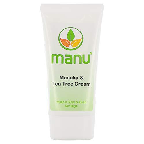 Manuka East Cape und Teebaum Creme - Das Original aus Neuseeland, Gegen Hautkrankheiten und...