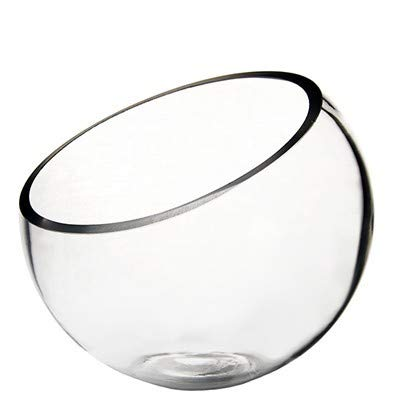 Glass Bowl Vase H-9' - Wedding, Event and Home Decor