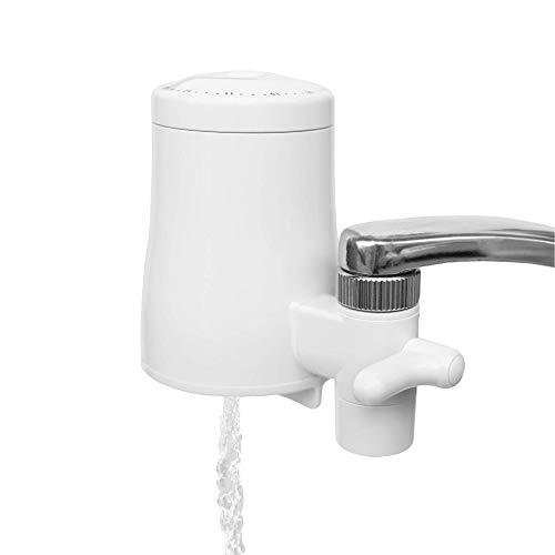 TAPP Water TAPP 2 Twist - Nachhaltiger Wasserfilter für den Wasserhahn - beseitigt schlechten Geschmack und Geruch. Filtert Kalk und mehr als 80 Schadstoffe | Ohne Werkzeug anzubringen