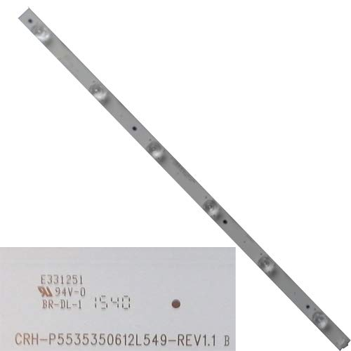 LED-Streifen CRH-P5535350612L549-REV1.1 B, Sharp LC-55CFE6242E