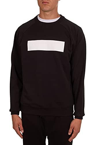 Calvin Klein Jeans - Felpa Uomo con Logo in Rilievo - Taglia S