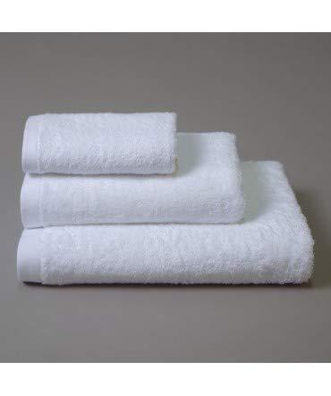 10XDIEZ Juego de Toallas 847 Blanco - Color - Blanco