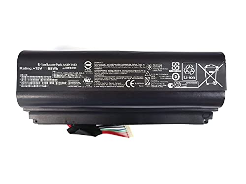 7xinbox 15V 88Wh A42N1403 Ersatz Akku Batterie für ASUS ROG GFX71JY 17.3