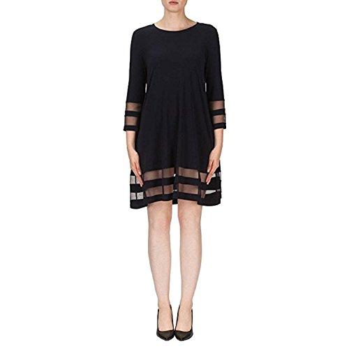 Joseph Ribkoff Dress Style 171172 (16) Black