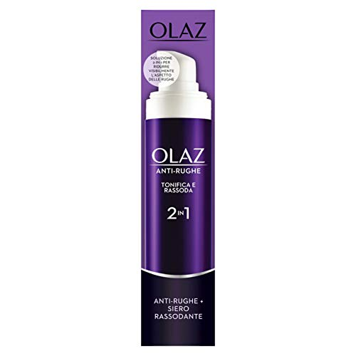 Olaz Anti-rimpel versteviging en versteviging 2-in-1 anti-aging crème en verstevigend serum Optimaal als grondlaag make-up 50 ml Parent