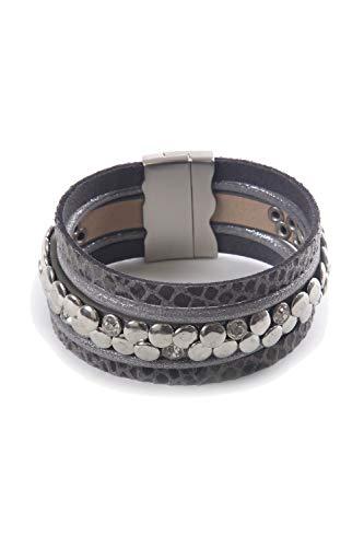 collezione alessandro Armband Kate mit Nieten