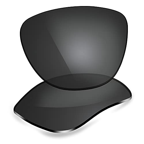 ThunderClap Lentes de repuesto polarizadas para Oakley Frogskins XS OJ9006, Shell Black - Polarizado, Talla única