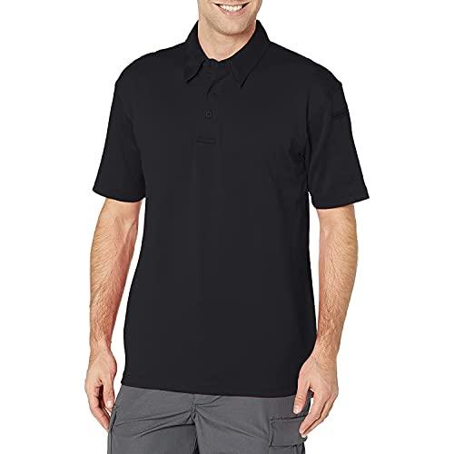 Propper T-Shirt Polo Classique à Manches Longues I.C.E pour Homme - Bleu Marine Police, Taille M