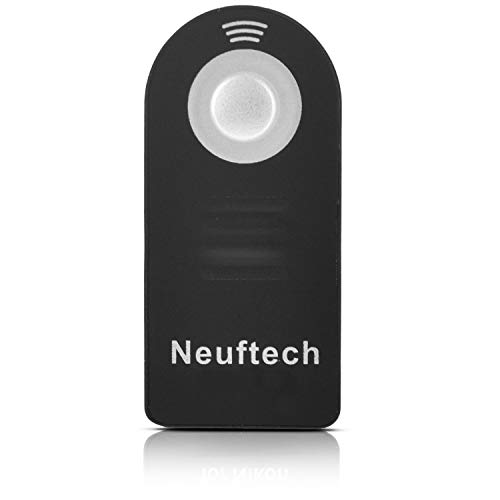 Neuftech - Mando a Distancia por Infrarrojos para Canon RC-6, Canon 600D, EOS 5D Mark II, EOS 7D, EOS 550D, EOS 500D, EOS 450D, 60D, 650D, 700D, 6D, 100D y 450D