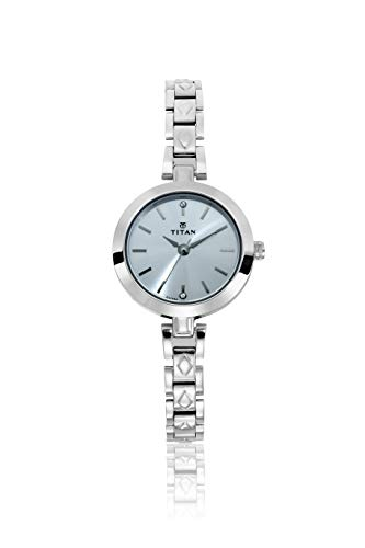 Titan Karishma Analog Silver Dial Women's Watch - 2598SM01