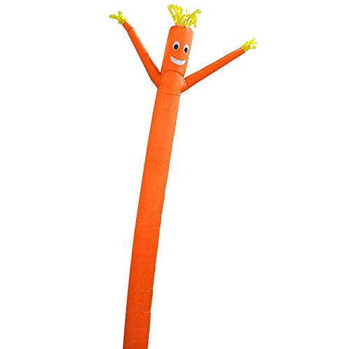 Skyerz Wacky Waving Inflatable Tube Man. Arm Flailing Advertising Sky Air Puppet - 20 Feet, Orange (Blower Not Included)