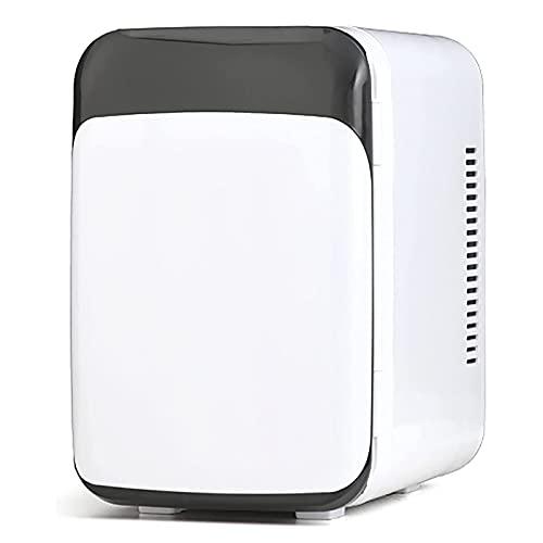 LGLE Mini Refrigerador de 10 litros AC/DC Termoeléctrico Portátil y Calentador para el Cuidado de la Piel, Alimentos, Medicamentos, Hogar y Viajes