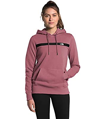 The North Face Women's Edge to Edge Pullover Hoodie, Mesa Rose, XL