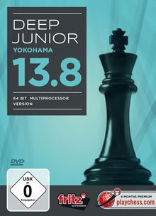 Deep Junior 13.8 –Yokohama (64bit Multiprozessorversion Version) (deutsch)