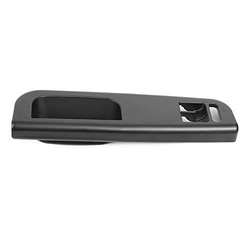 XW-MENBS, Interruptor de la ventana Control Maestro panel de ajuste del bisel Negro ajuste for golf 4 Passat 1998-2005 2 tiradores de las puertas interiores de las puertas (Color : For 3B1867171D)