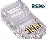 All networkin clip RJ45 BOX Connector Colour white