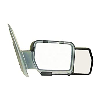 K Source 81810 Snap-On Towing Mirrors for Ford F150  09-14  Black