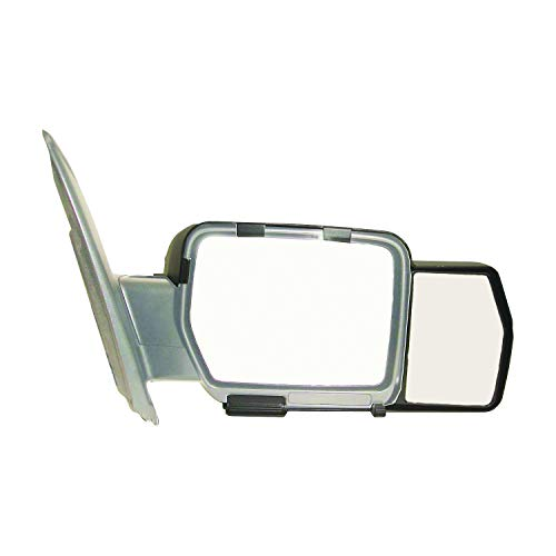 K Source 81810 Snap-On Towing Mirrors for Ford F150 (09-14), Black
