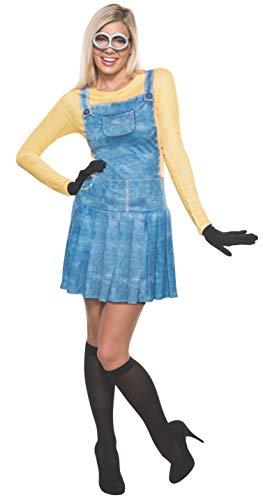 Rubies - Disfraz de Minion para Mujer, Talla Mediana