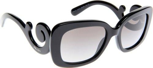 Prada Für Frau 27o Black / Grey Gradient Kunststoffgestell Sonnenbrillen