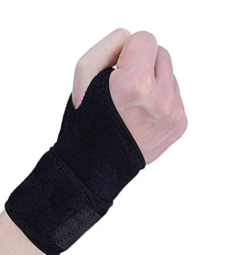 Handgelenkbandage, Handgelenk Bandagen, Handbandage Rechts und Links, Handgelenkschützer Fitness mit Klettverschluss, Atmungsaktivem Handgelenk Karpaltunnelsyndrom Verstauchung
