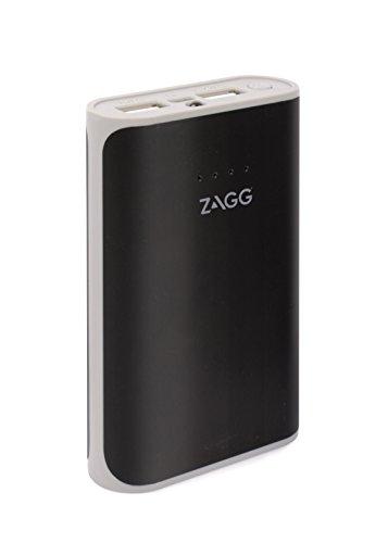 ZAGG IFIGN6-BK0 Zündung 6000mAh Dual USB Portable Ladegerät mit Blitzlicht, Externe Batterie Power Bank schwarz