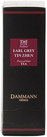 Desconocido Té DAMMANN FRÈRES - Earl Grey Yin Zhen (Té Negro) - 24 Sobres Cristal