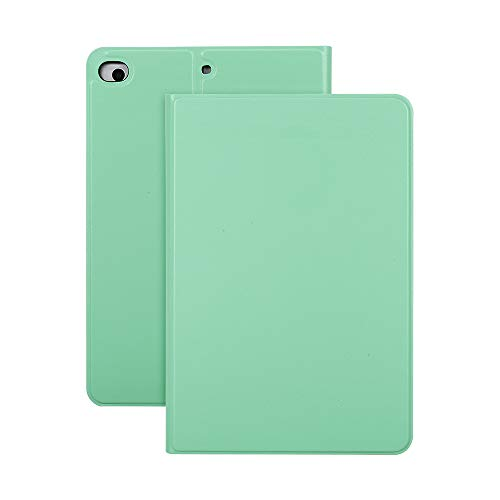 Ajcoflt Protective Case PU Leather TPU Back Case Cover Tablet Support Stand Replacement for iPad Mini 1/2/3/4/5 Green