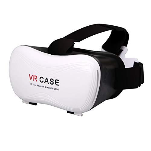 Nuevas gafas 3D VR suaves y cómodas VR Auricular Realidad Virtual Auriculares VR Gafas Glasses HD Lens para Películas VR 3D Videojuegos para iPhone 12/11 / X / 8/7/6 para Samsung S10 / S9 / Nota10 / 9
