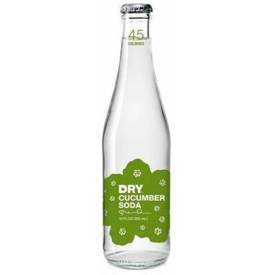 Dry Soda - Cucumber, 12 Ounce - 4 per pack - 6 packs per case.