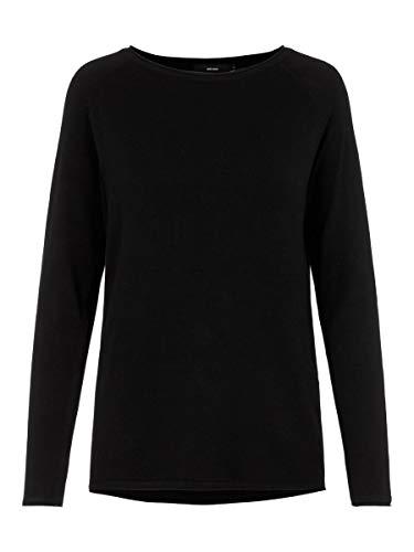 VERO MODA Female Pullover Gestricktes LBlack