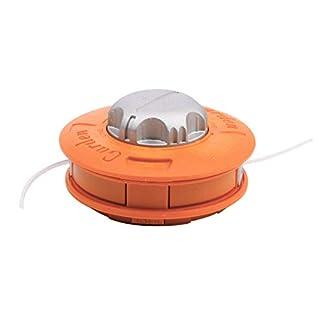 Cabezal de aluminio para desbrozadora de césped, doble cabezal de hilo, hilo de nailon para desbrozadora.
