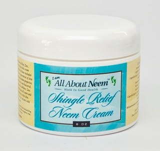 Neem Oil Shingles Treatment and Relief Skin Cream - 8 oz Best Nerve Pain Relief- Formulated for Shingle Recovery. For Eczema, Psoriasis, Rosacea, Dermatitis and Rashes.