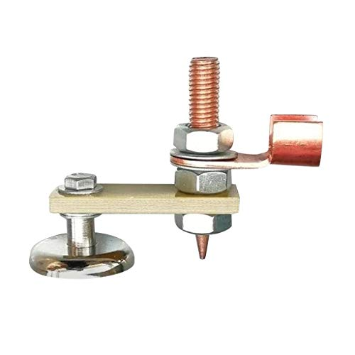 Welding Magnet Head Magnetic Welding Support Fix-Tite Magnetic Welding Ground Clamp Holder Copper Tail Welding Stability Strong Magnetism Large Suction