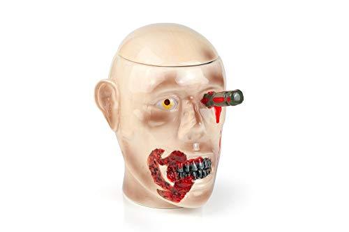 The Walking Dead Ceramic Cookie Jar - Zombie Walker Head Design by Walking Dead
