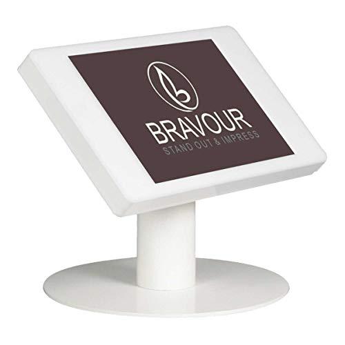 Soporte de escritorio para tablet Fino para HP ElitePad 1000 G2 - blanco - cámara y botón de inicio cubierto
