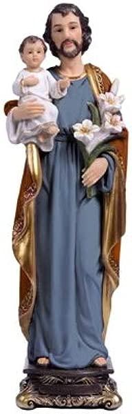 Woodington S Florentine Collection Saint Joseph 5 Inch Statue